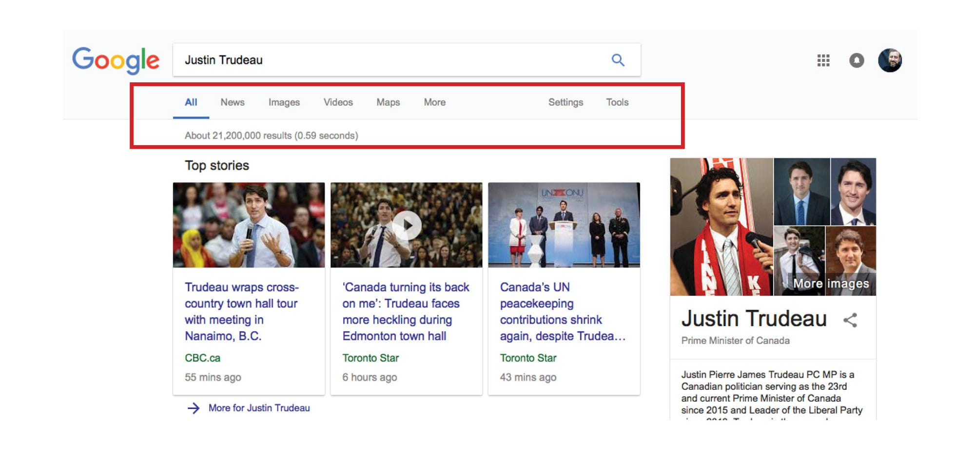 Trudeau Search