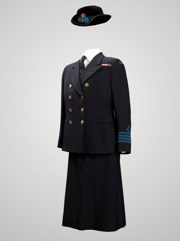 Photo of WRNCS service dress