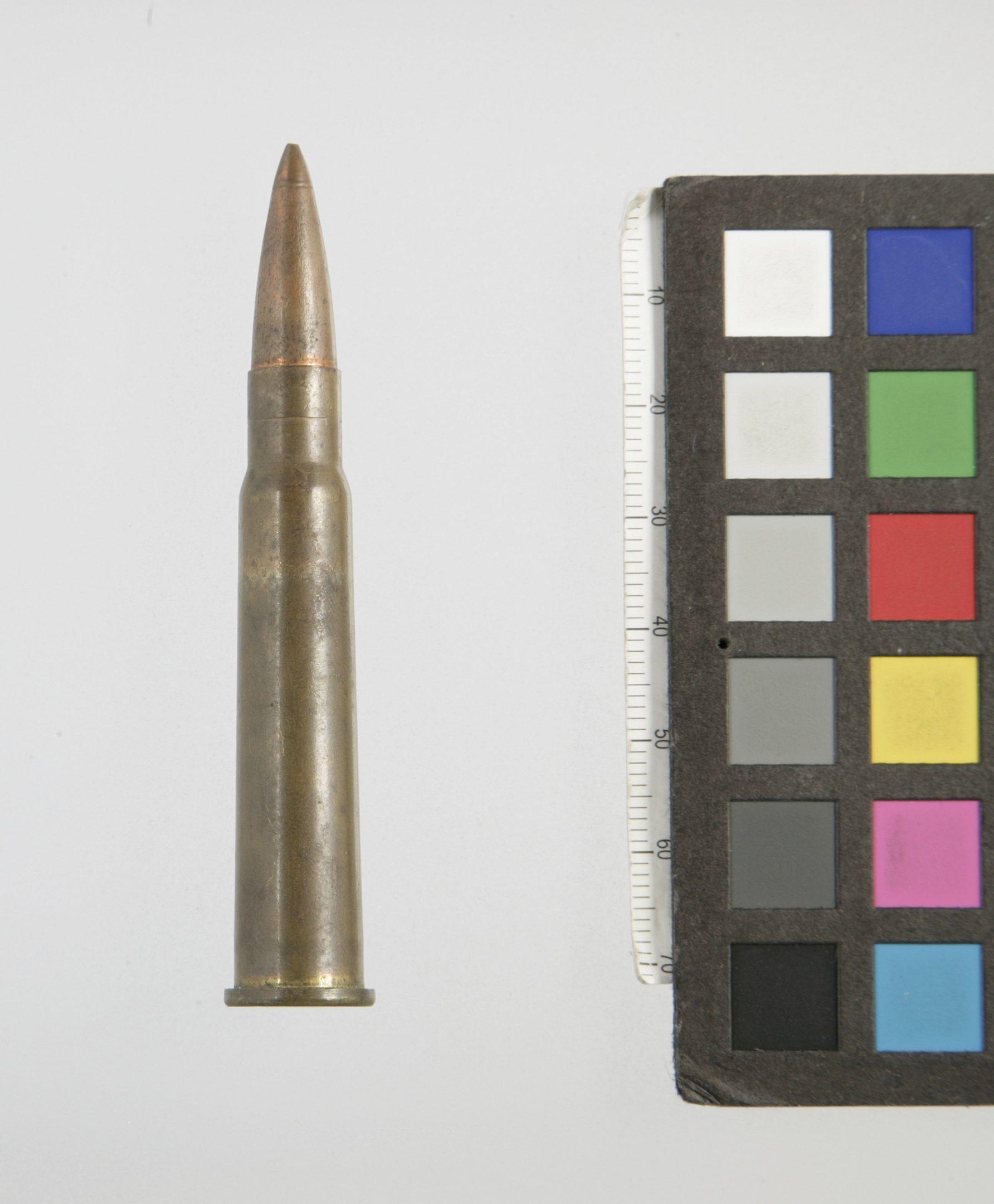 Photo of a .303 cartridge