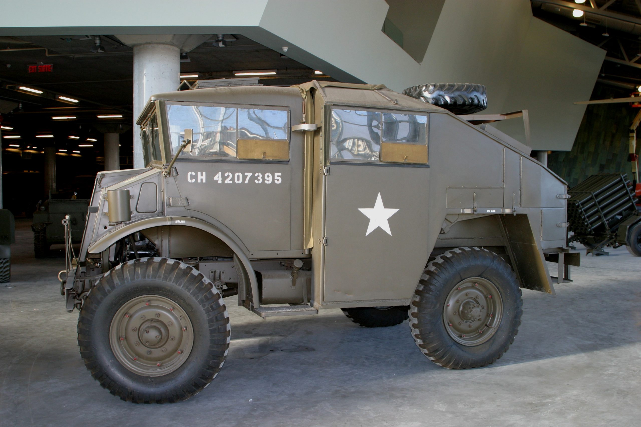 Photo of military truck