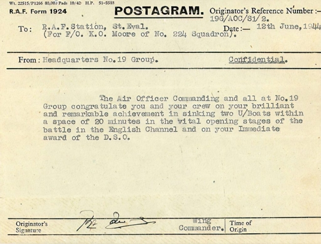 Photo of telegram.