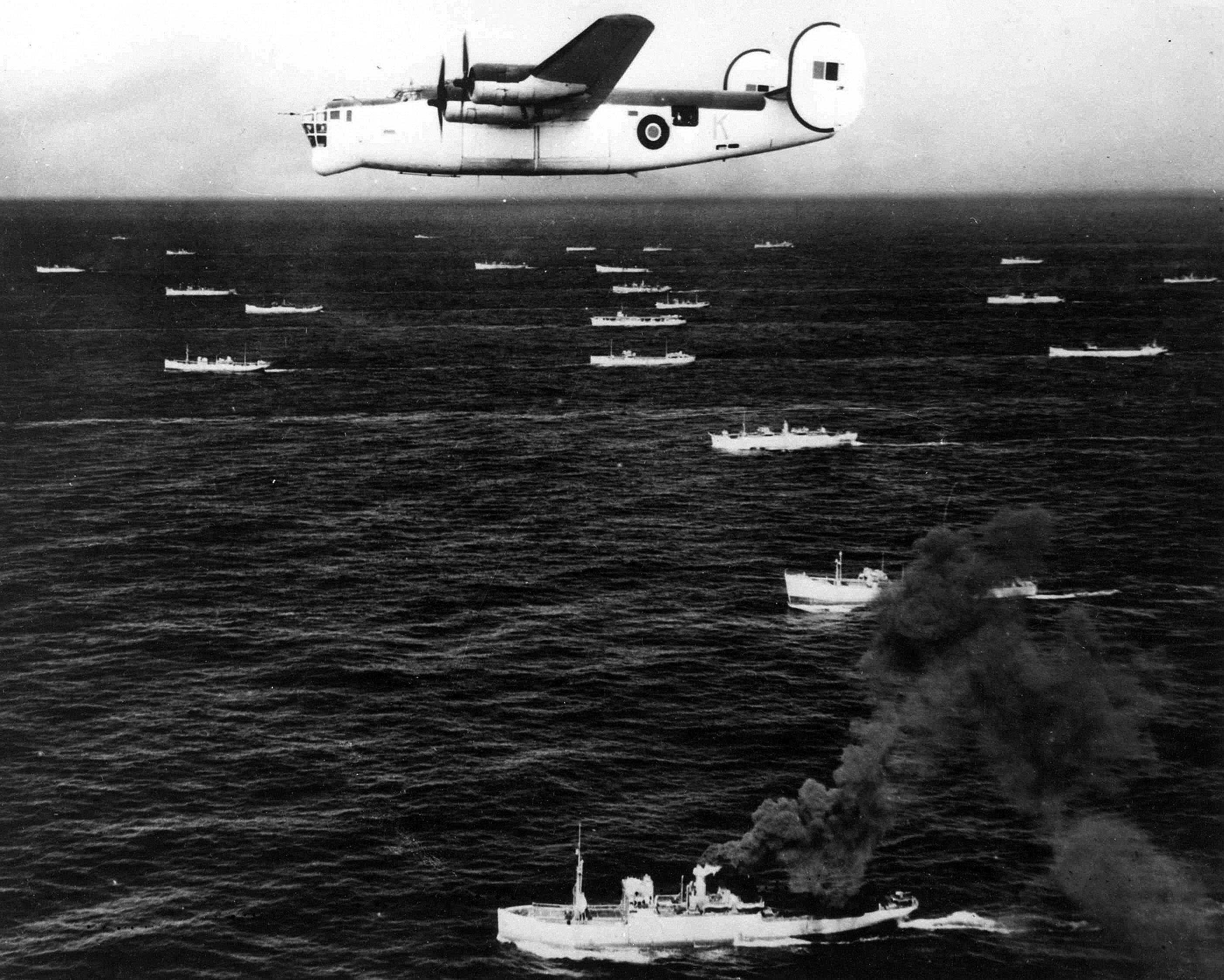 Photo of a B-24 Liberator.