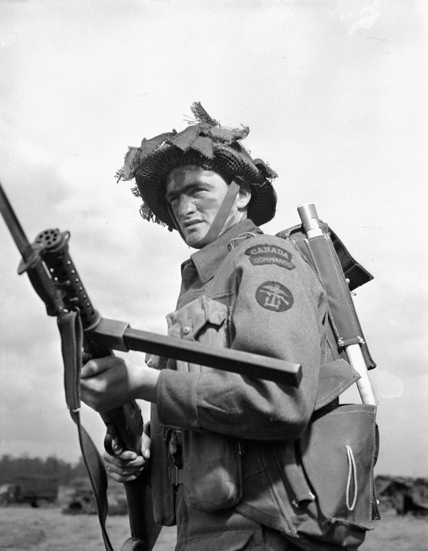 Photo of Commando in Battle Dress