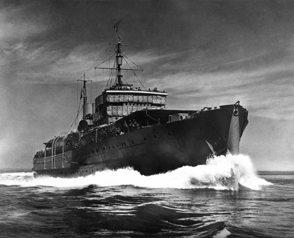 Photo of HMCS Prince David