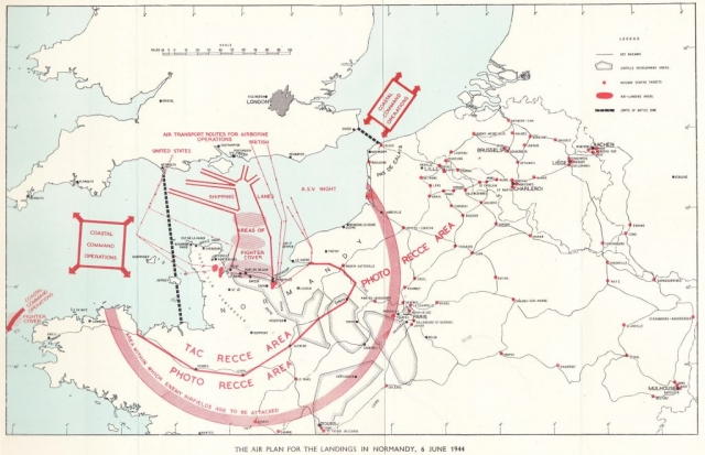 The Air Plan for the Landings in Normandy, 6 June 1944