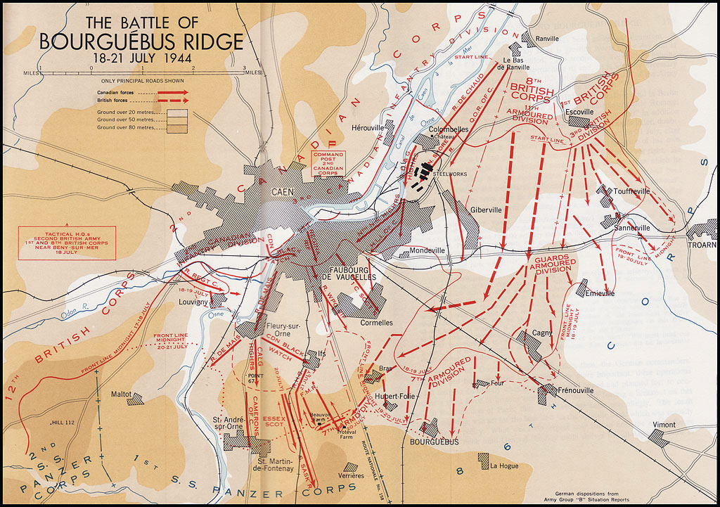 Stacey War map