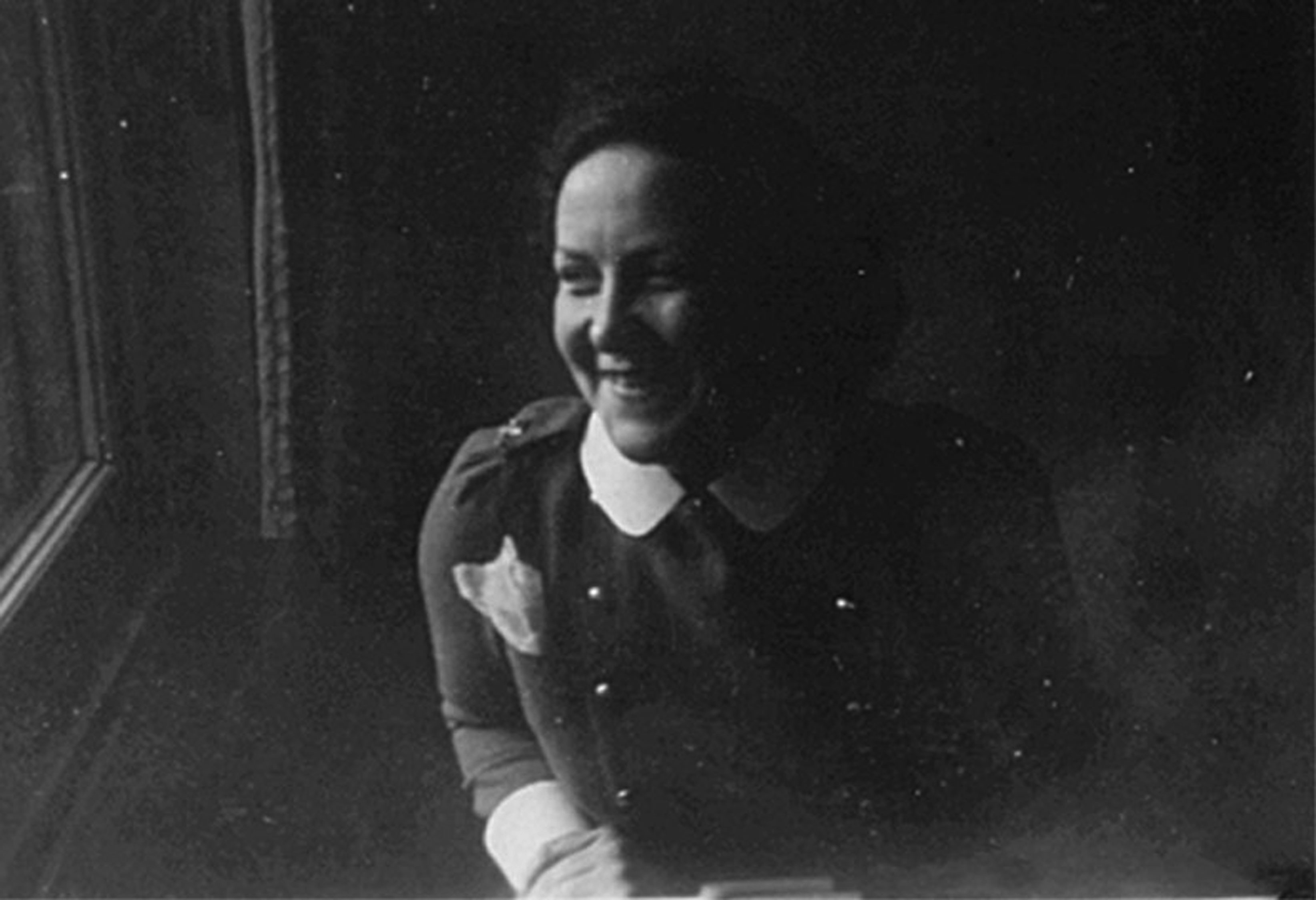 Photo of Nora in England prior to D-Day.