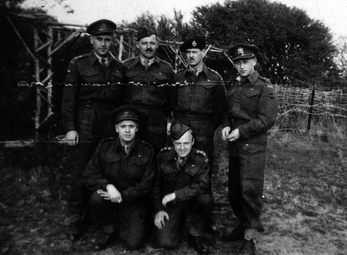 Photo of signals unit 1944.