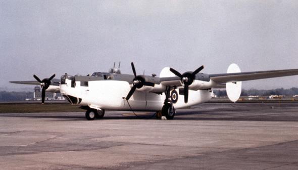 Photo of a B-24 Liberator
