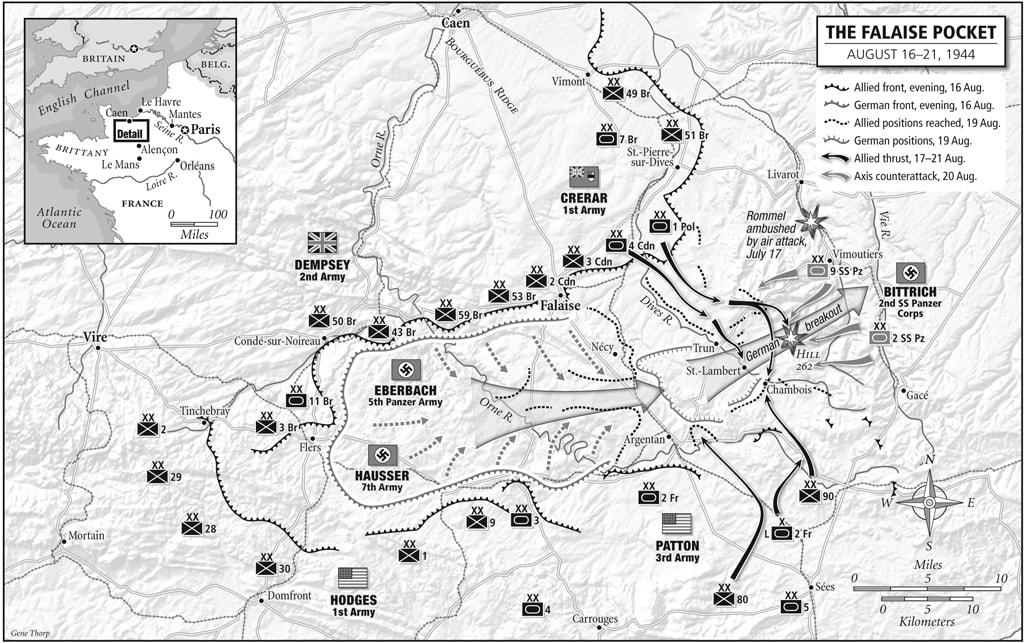 Falaise Pocket Map