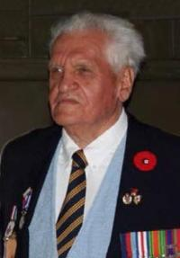 Donald Somerville in the later years, c. 2010. Courtesy of The Canadian Military Engineers Association.