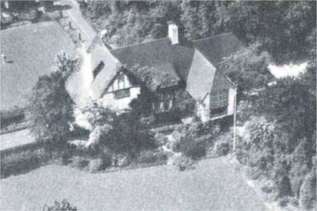 """Ingleside, 1938."" This estate belonging to Mona Parsons and her husband, Willem Leonhardt, became a safe house for Allied airmen being smuggled out of the Netherlands by the Dutch Resistance. Courtesy of ""Mona Parsons: From Privilege to Prison, From Nova Scotia to Nazi Europe"" by Andria Hill-Lehr."