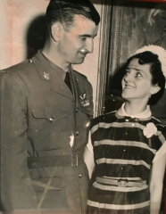 Léo Major and his wife, Pauline de Croiselles. Courtesy of Daniel-Aimé Major, son of Léo Major.