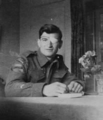 Léo Major c. 1944. Courtesy of the Historisch Centrum Overijssel in Zwolle, Netherlands.