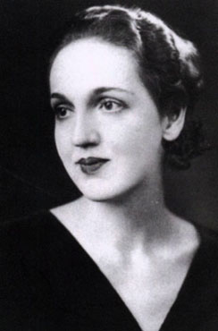 Photo of Mona Parsons for promotional purposes, c. 1929.