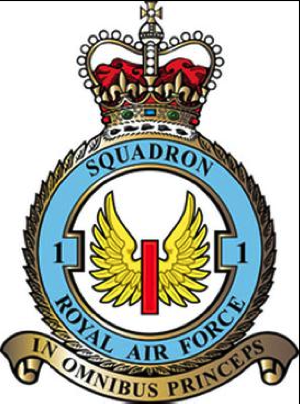 Crest of the No. 1 Group Bomber Command of the Royal Air Force. Philip Pochailo was part of this group.