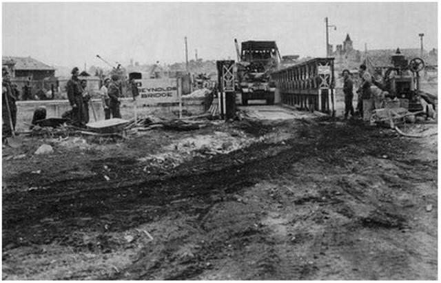 The 'Reynolds Bridge' c. 1944.