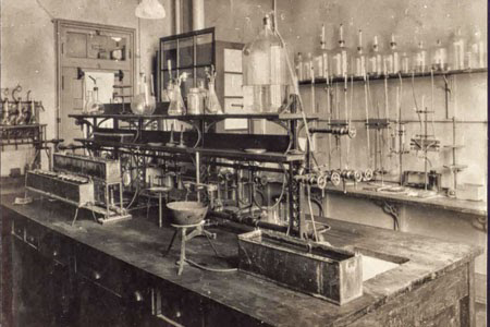 Banting and Best's laboratory.