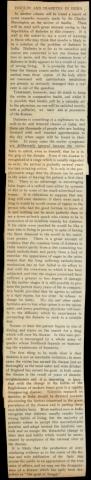 """Article intitulé """"Insulin and diabetes in India"""", publié à Calcutta par l'Indian Medical Gazette en mars 1923."""